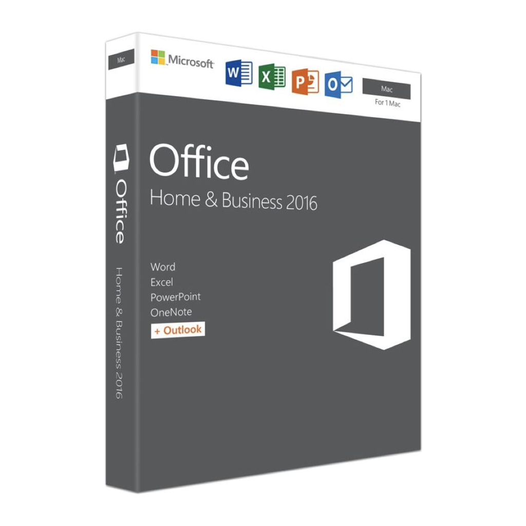 Microsoft Office 2016 Home and Business (Mac)