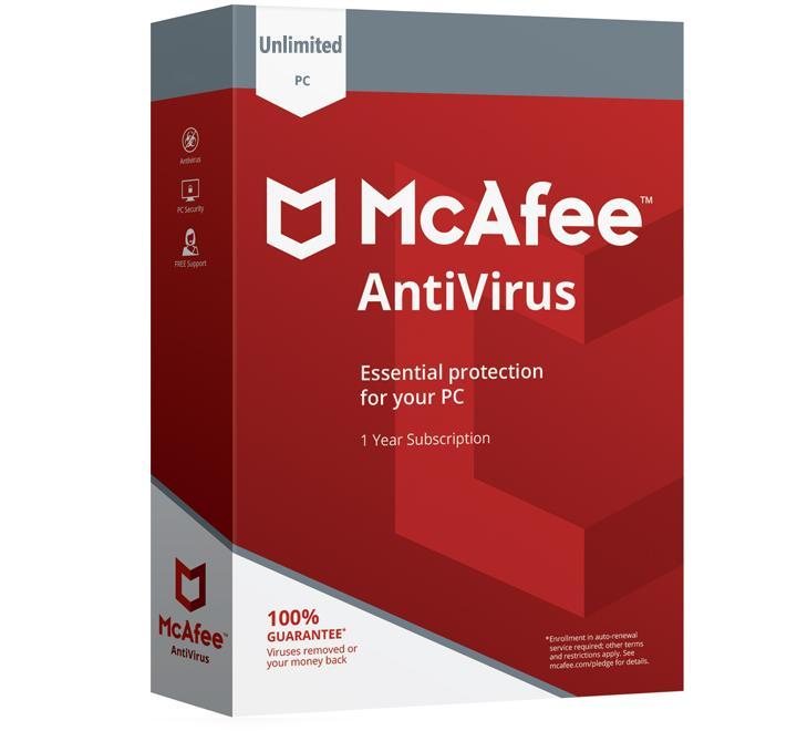 McAfee Antivirus 2020 (Gezin / 10 apparaten)